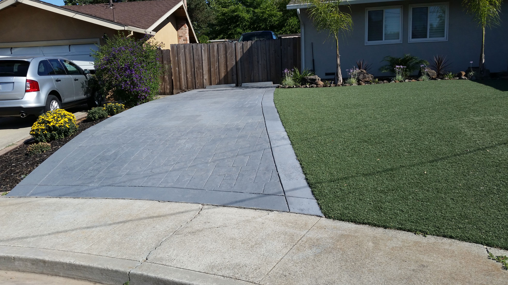 We can transform your weather-worn concrete